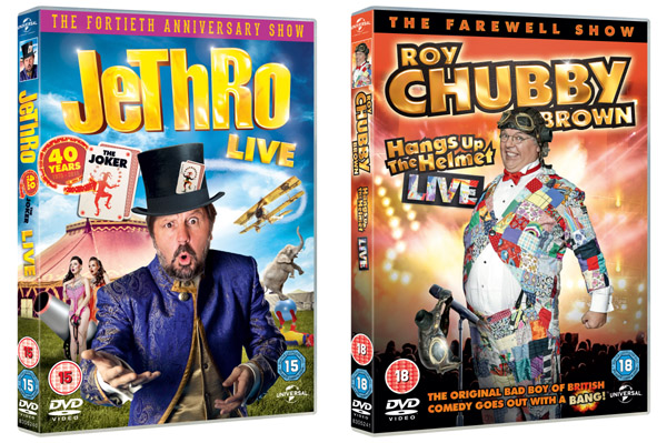 Roy chubby brown new dvd