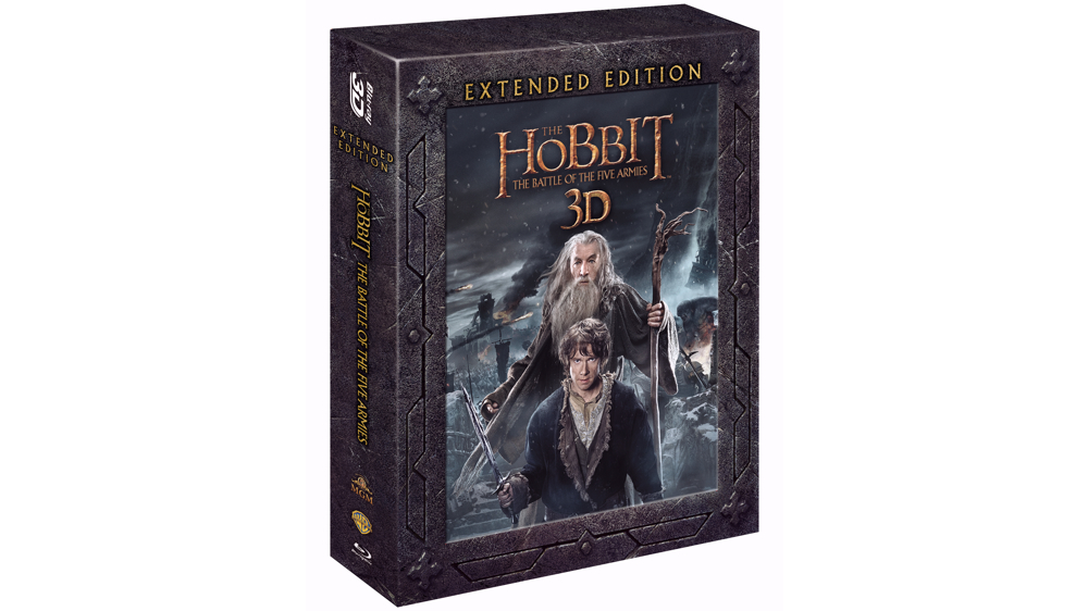 the hobbit battle of the five armies 3d blu ray