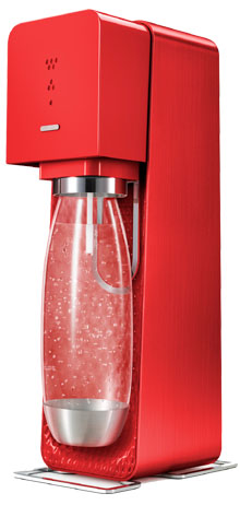 Sodastream Red Source Drinks Maker