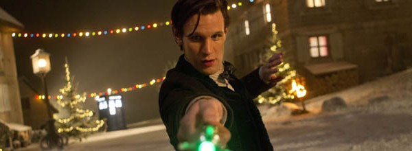 xmas time of the doctor snow