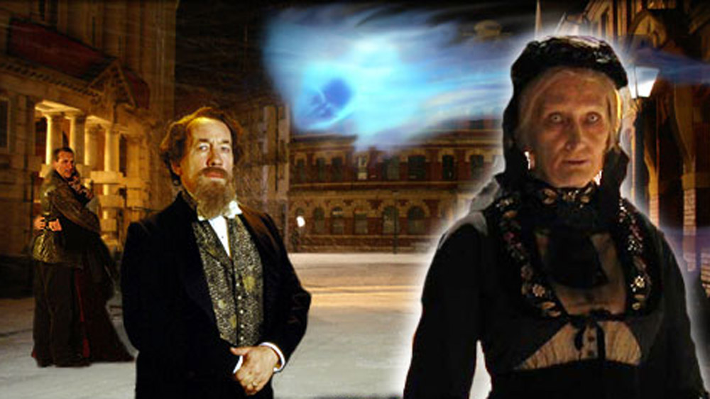 Doctor Who The Unquiet Dead Charles Dickens