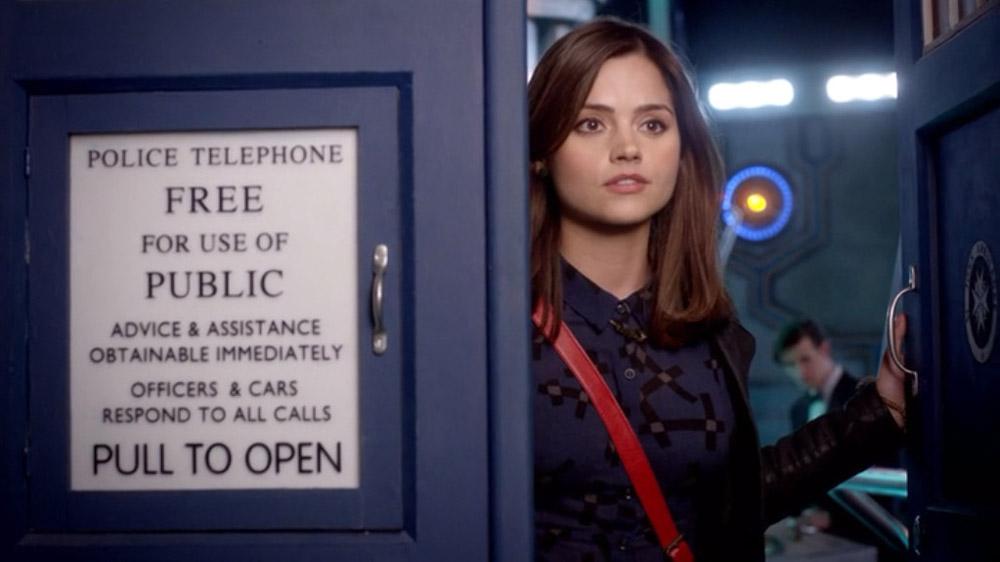 Doctor Who Clara TARDIS