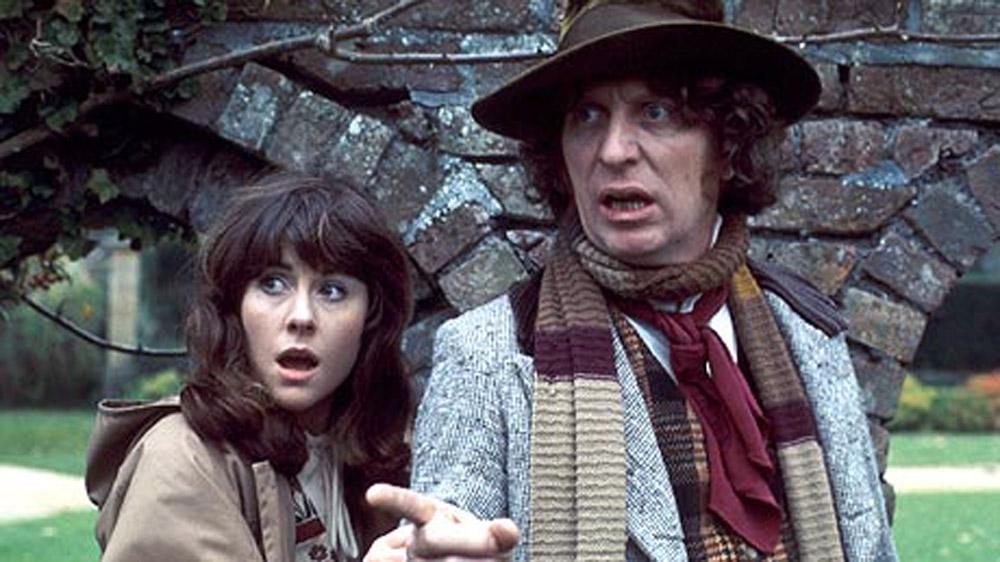 Doctor Who Tom Baker Elisabeth Sladen