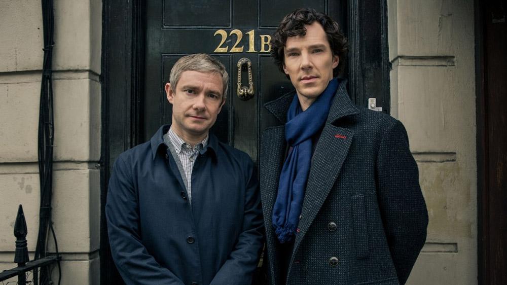 Sherlock Series 3 221b
