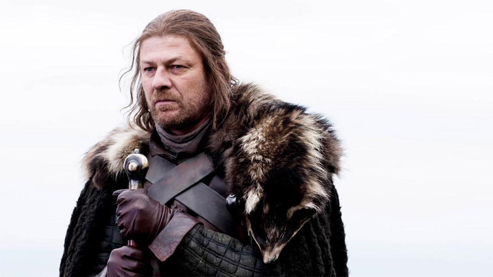 Game of Thrones Sean Bean Ned Stark