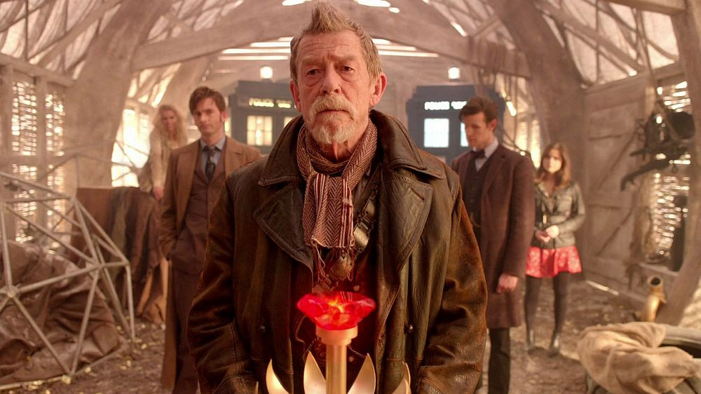 Doctor Who Day of the Doctor button John Hurt War Doctor