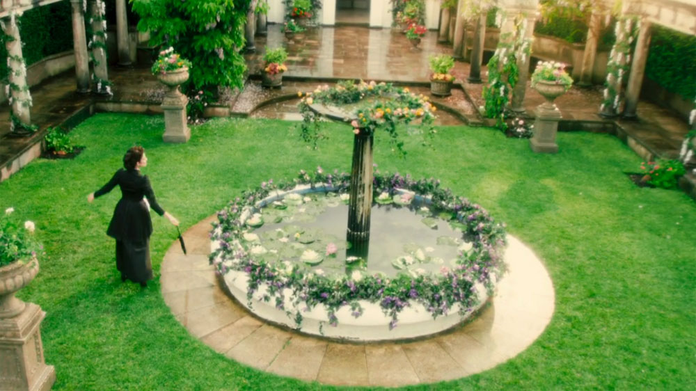 Every time Missy's garden has appeared in the 'Doctor Who' universe