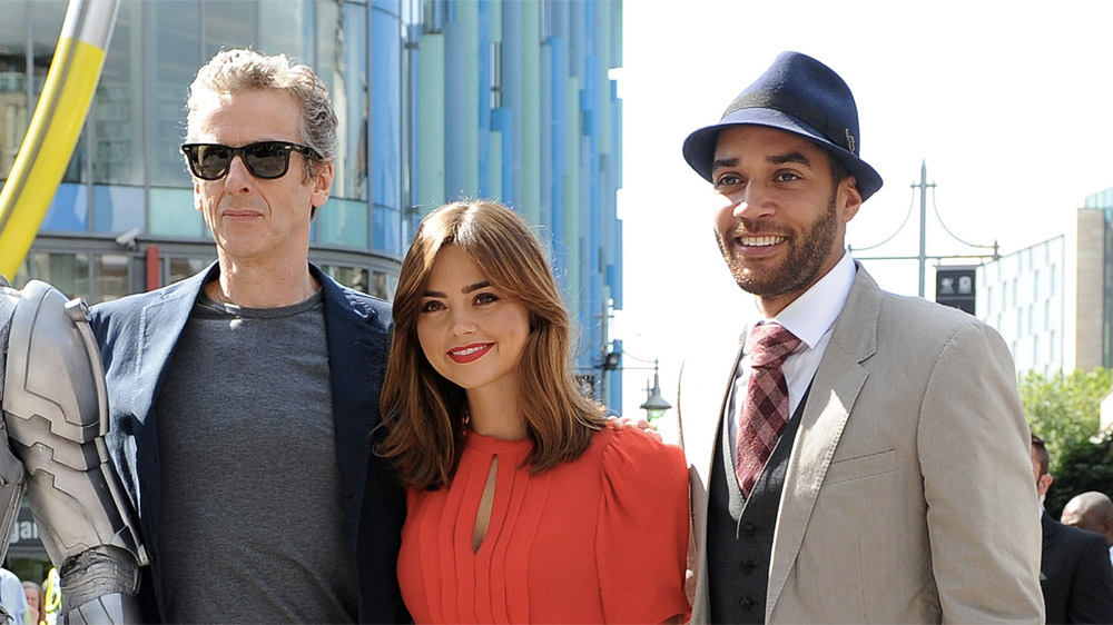 Doctor Who Series 8 Cardiff launch