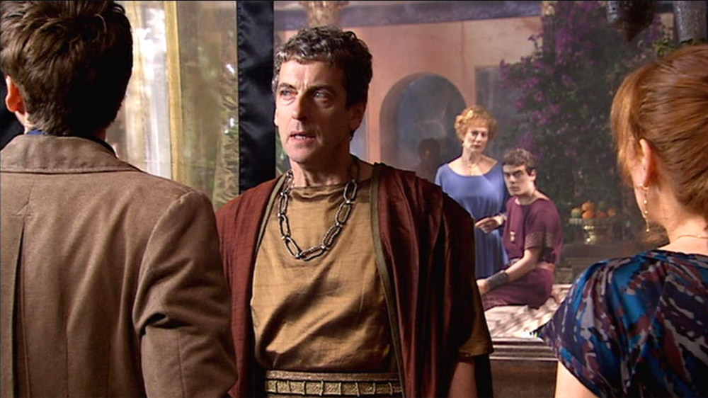 Doctor Who peter Capaldi Fires of Pompeii