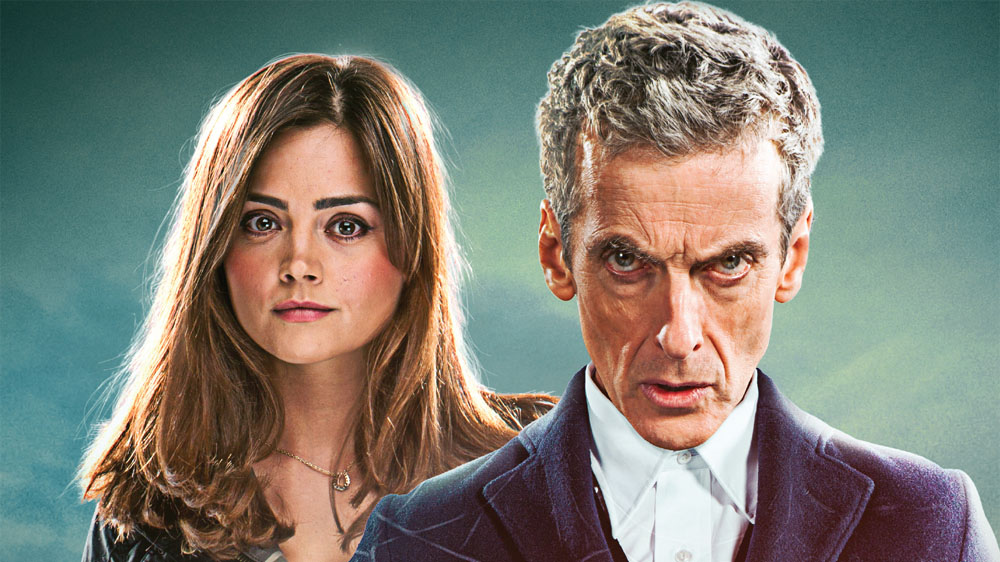 Doctor Who Peter Capaldi Jenna Coleman 2