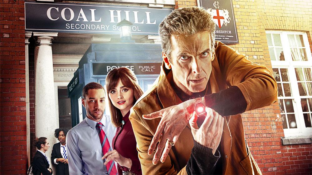 Doctor Who The Caretaker cast