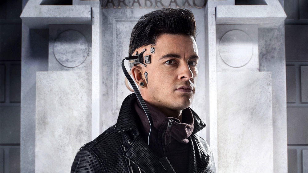 Doctor Who Time Heist Jonathan Bailey