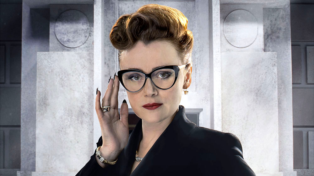 Doctor Who Time Heist Keeley Hawes