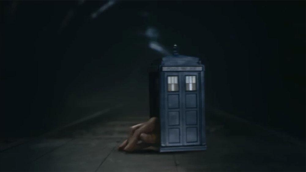 Doctor Who Flatline TARDIS