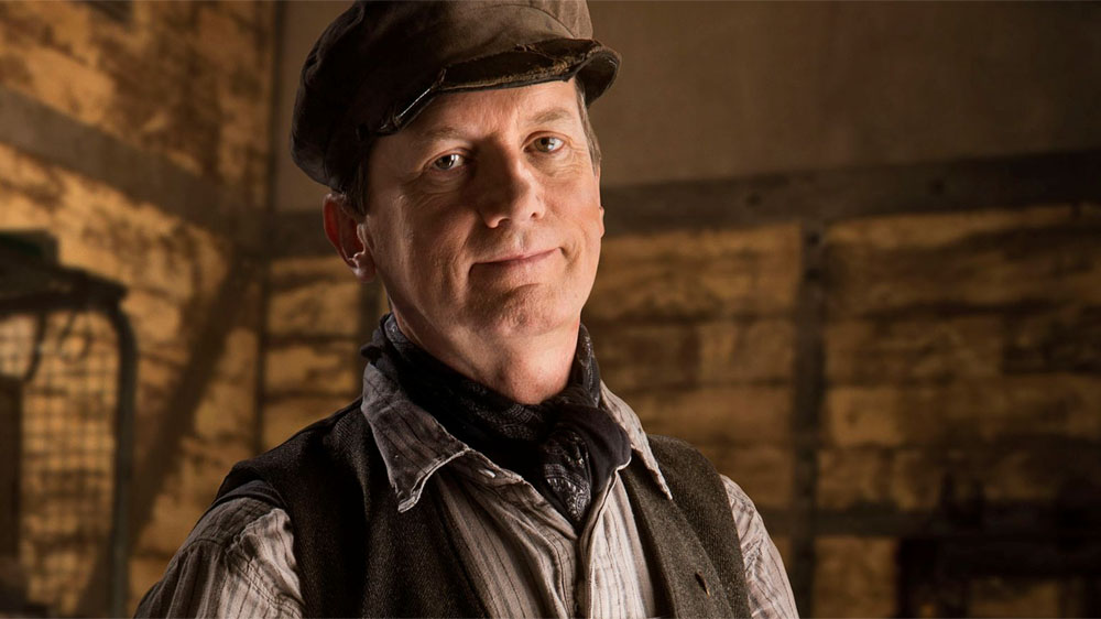 Doctor Who Mummy on the Orient Express Frank Skinner