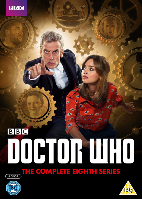 Doctor Who Season 8 DVD
