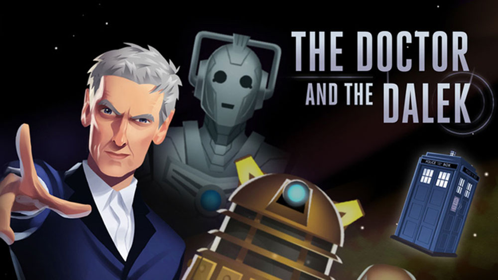 Doctor Who The Doctor and the Dalek