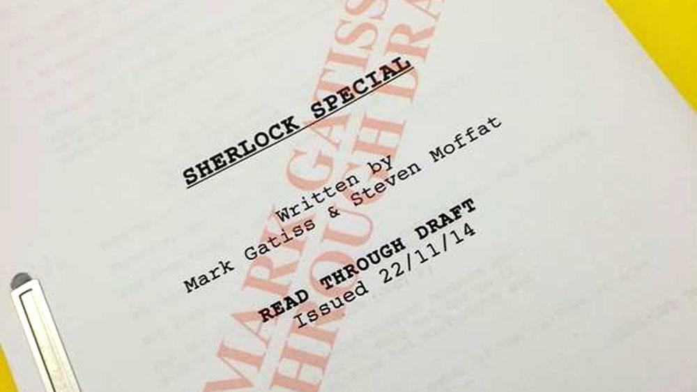 Sherlock special script