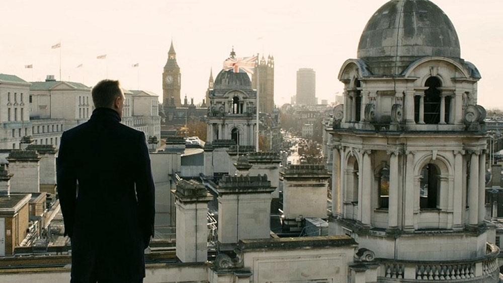 Skyfall James Bond London