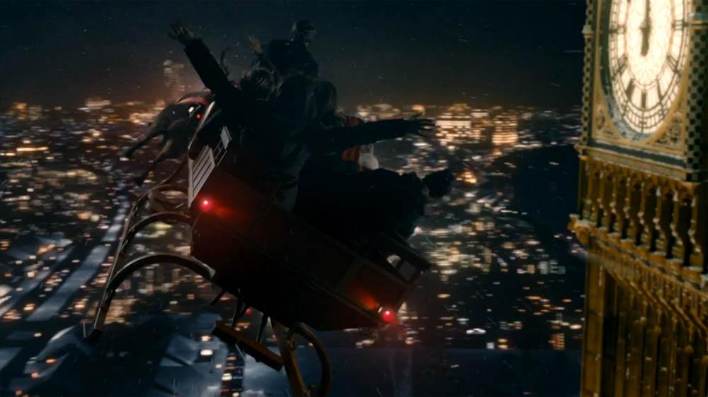 Doctor Who Last Christmas Big Ben