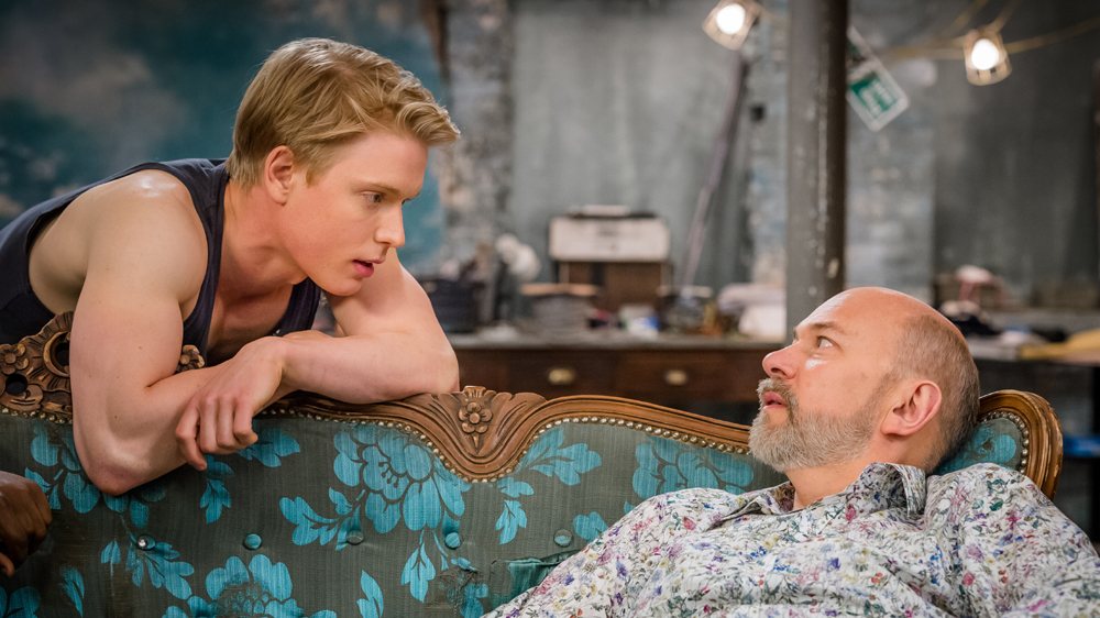 Cucumber 7 Freddie Fox as Freddie and Vincent Franklin as Henry