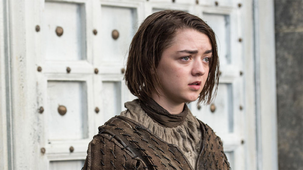 Game of Thrones 5 Maisie Williams as Arya Stark