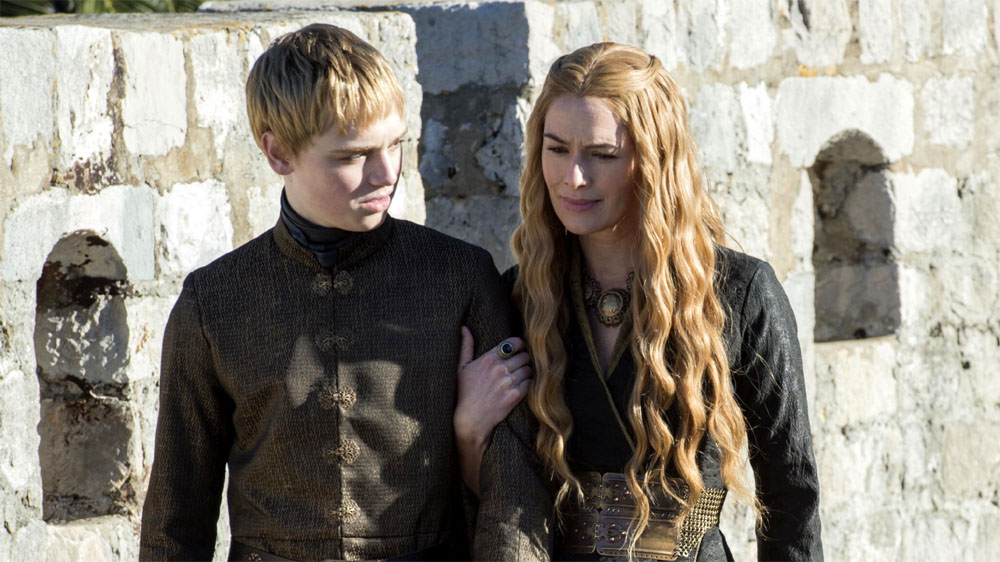 Game of Thrones 5 Tommen and Cersei