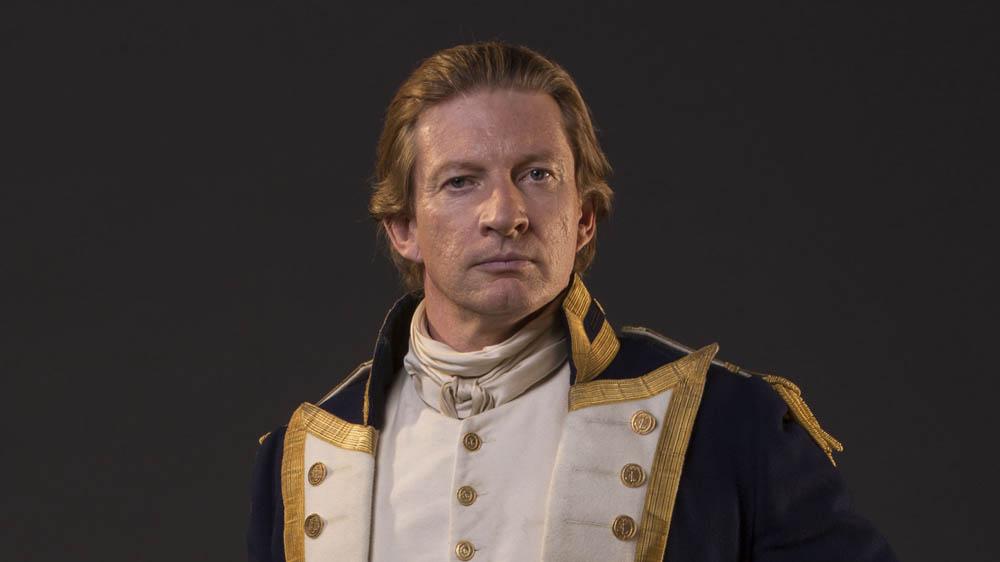 Banished Governor Arthur Phillip (DAVID WENHAM)