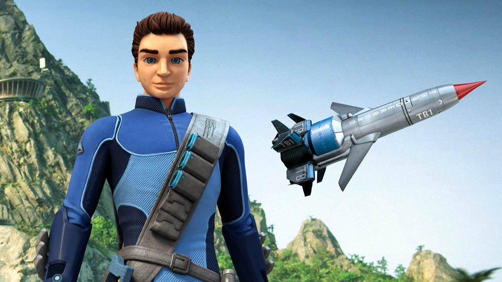 Thunderbirds Are Go Scott and Thunderbird 1