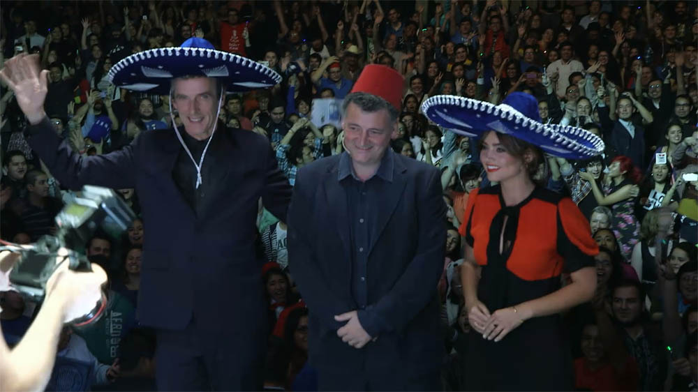 Doctor Who Mexico Steven Moffat