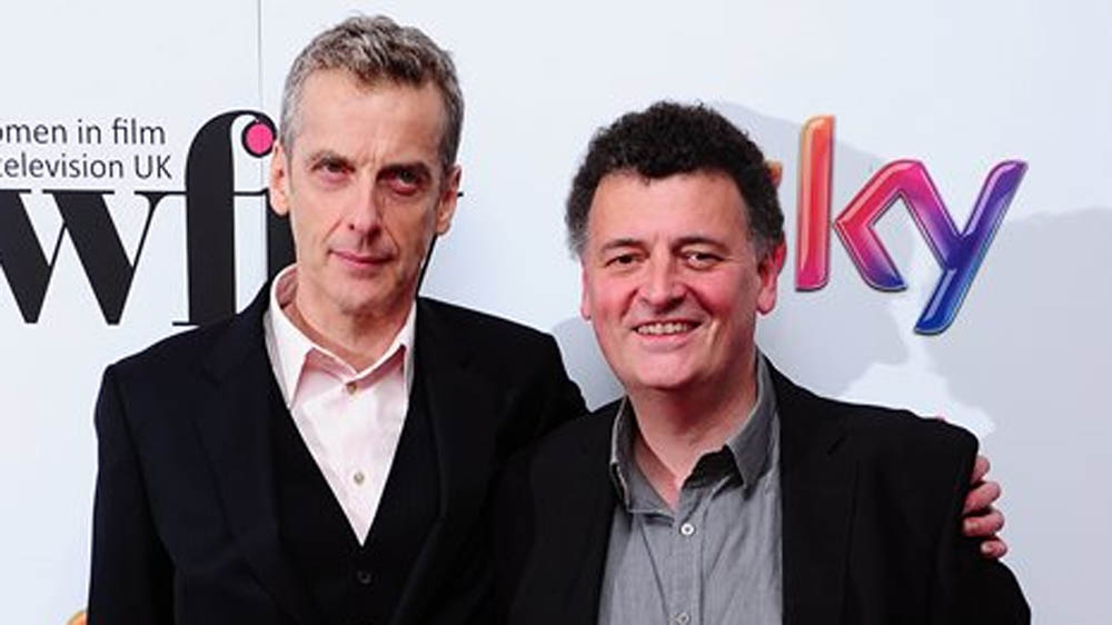 Doctor Who Peter Capaldi Steven Moffat