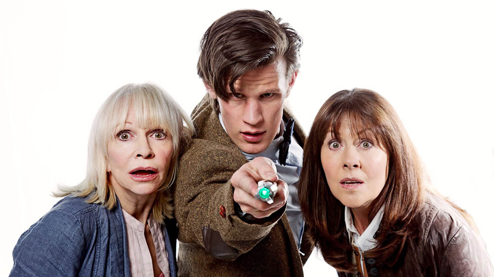 The Sarah Jane Adventures The Death of the Doctor Jo Grant Katy Manning