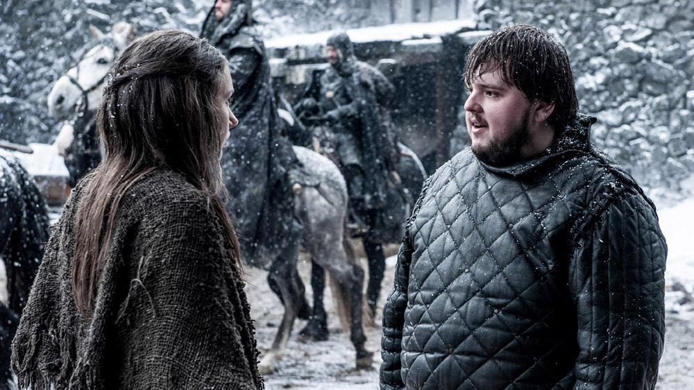 Game of Thrones 5 7 Sam and Gilly
