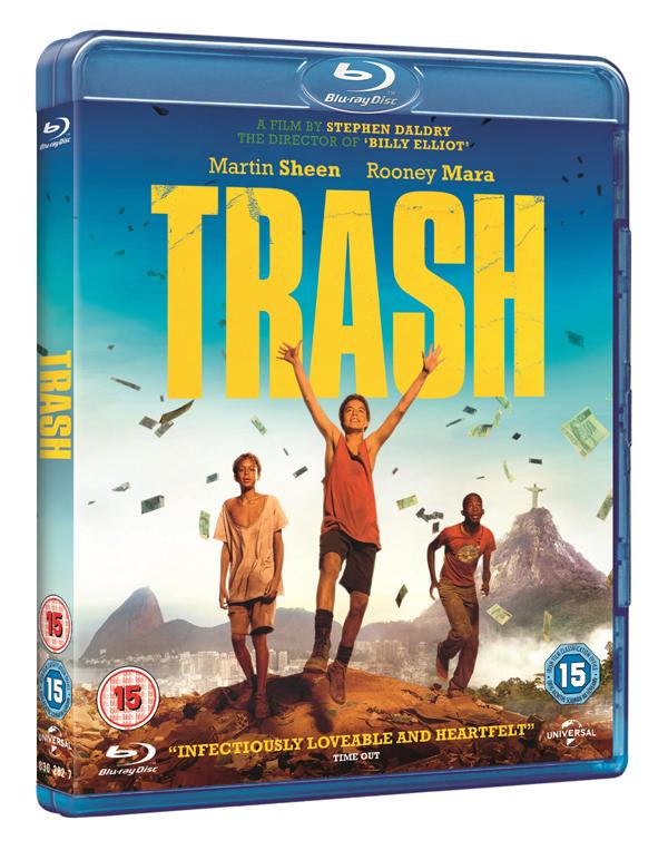 Trash 3D Blu-ray pack shot