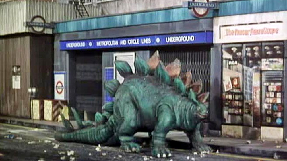 Doctor Who Invasion of the Dinosaurs