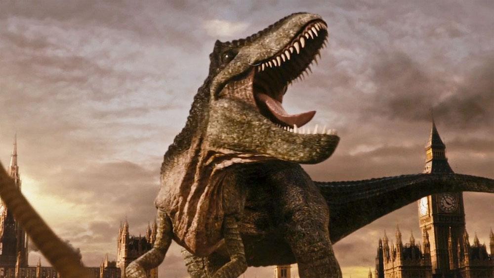 Doctor Who Deep Breath dinosaur