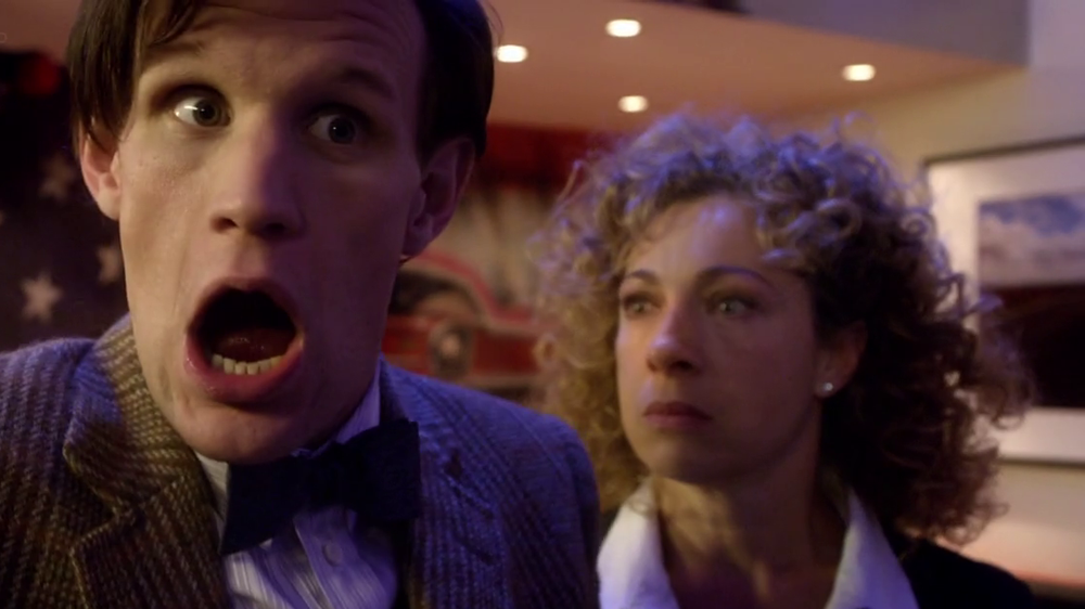 Doctor Who River Song Alex Kingston Matt Smith