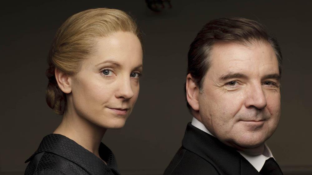 Downton Abbey 6 JOANNE FROGGATT as Anna Bates and BRENDAN COYLE as Mr Bates