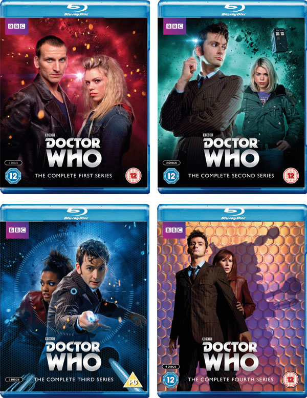 Doctor Who 1 2 3 4 Blu-ray