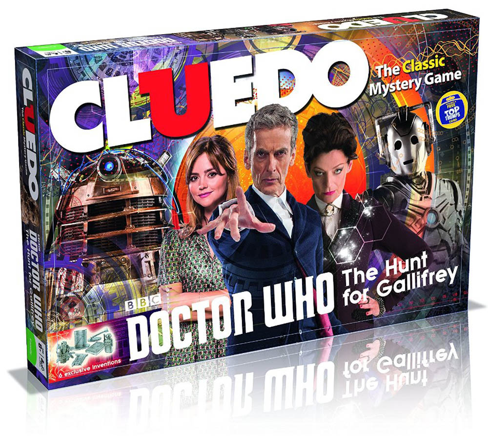 Doctor who Cluedo