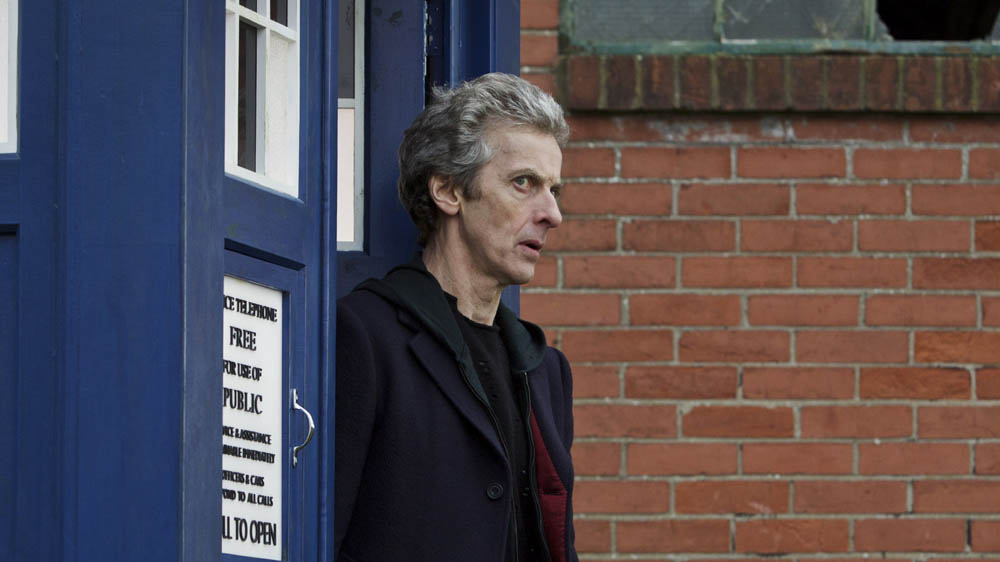 Doctor Who Before the Flood Peter Capaldi Twelfth