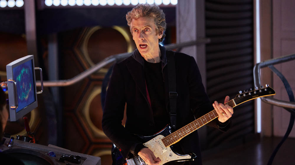 Doctor Who The Woman Who Lived  Peter Capaldi guitar Twelfth