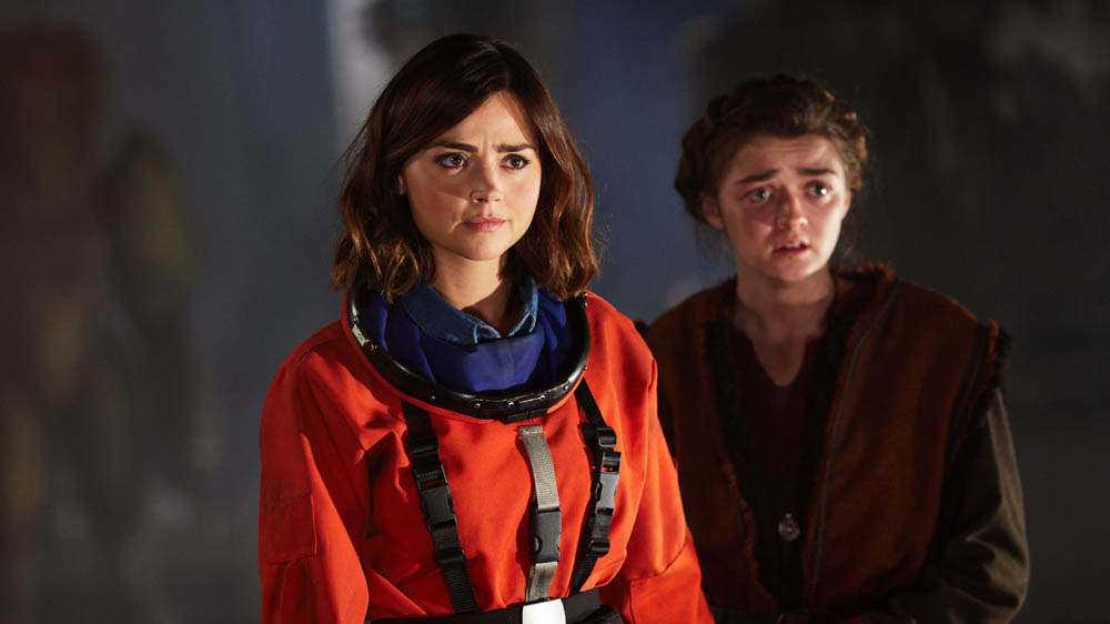 Doctor Who The Girl Who Died Jenna Coleman Clara Ashildr