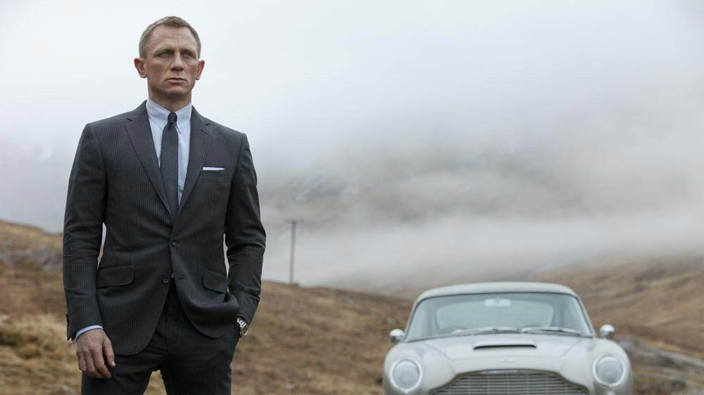 Skyfall Daniel Craig James Bond