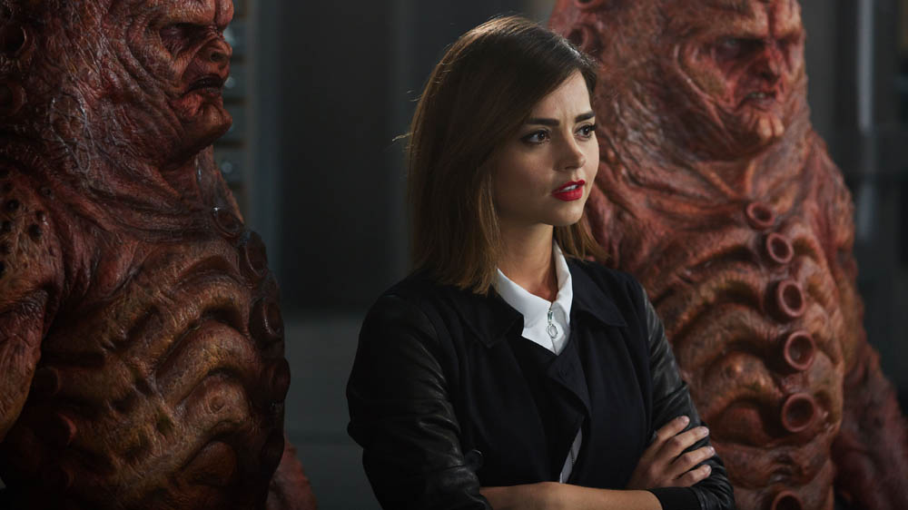 Doctor Who The Zygon Inversion Clara Jenna Coleman