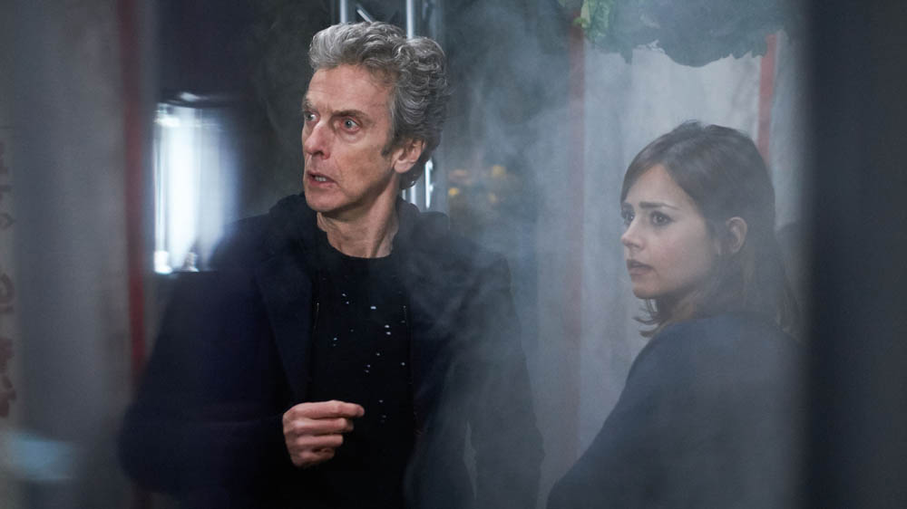 Doctor Who Sleep No More Peter Capaldi Twelfth