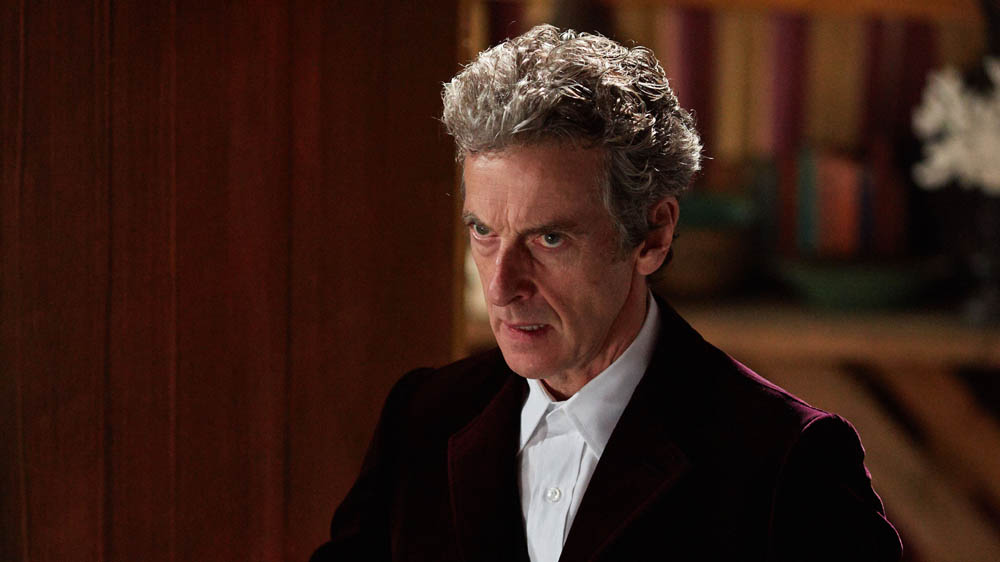 Doctor who face the Raven Peter Capaldi Twelfth