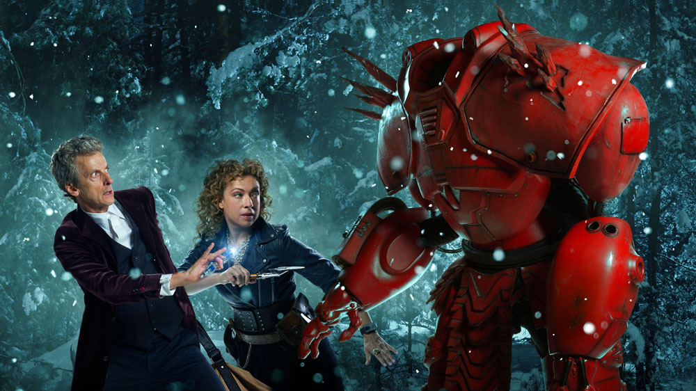 Doctor Who   The Husbands of River Song Alex Kingston Peter Capaldi