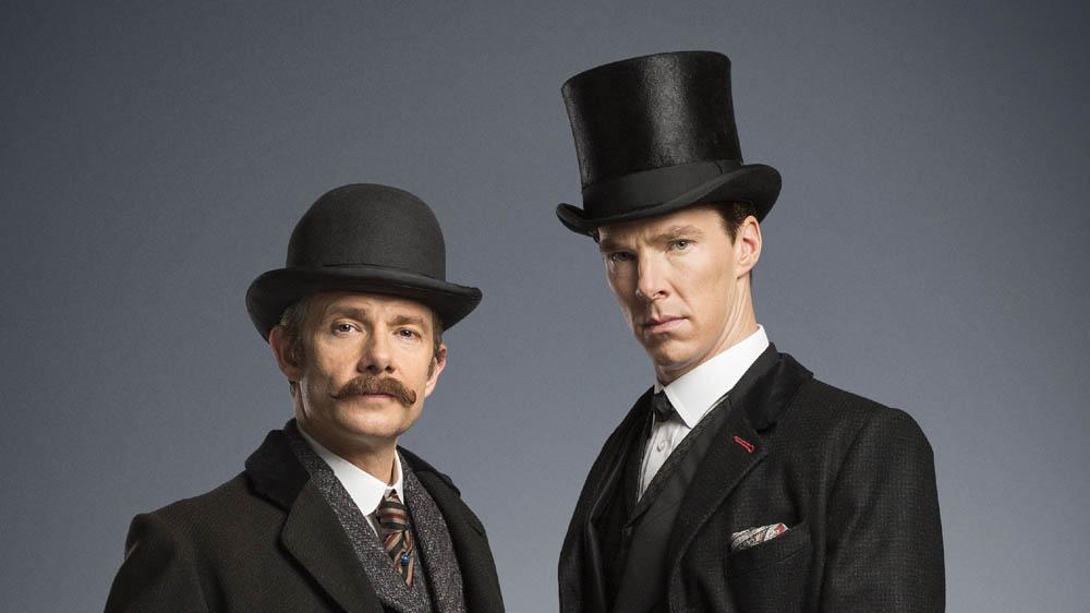 Sherlock Holmes The Abominable Bride (BENEDICT CUMBERBATCH) John Watson (MARTIN FREEMAN)