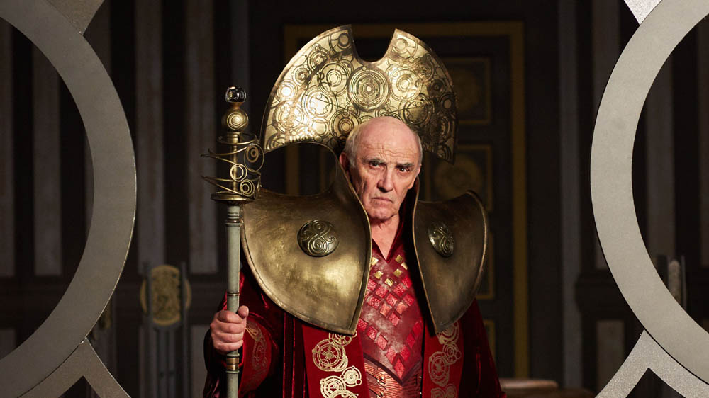 Doctor Who Hell Bent The President (DONALD SUMPTER)